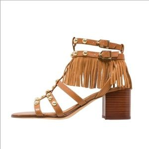 Sam Edelman  Fringe Sandals 6